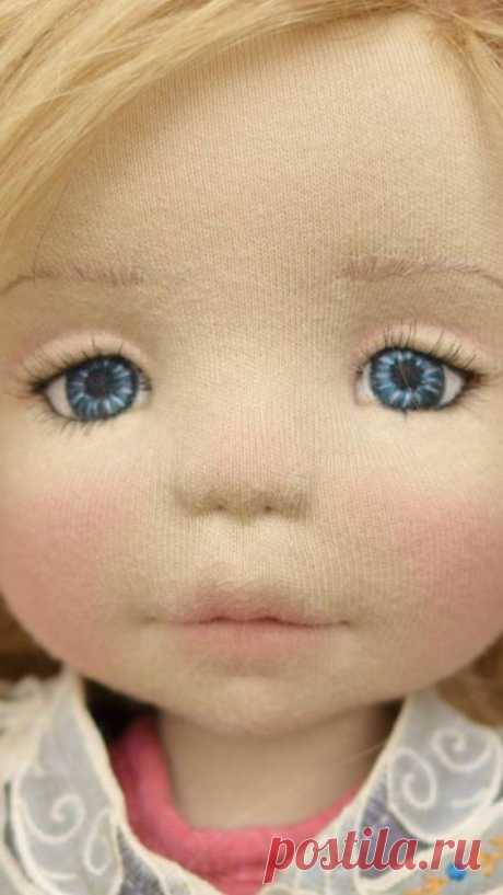 Вышиваем лицо куклам — Сделай сам, идеи для творчества - DIY Ideas