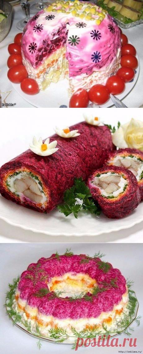 """Наш любимый салат """"Сельдь под шубой"""""""