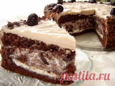 Торт «Сад вишневый» : Торты, пирожные