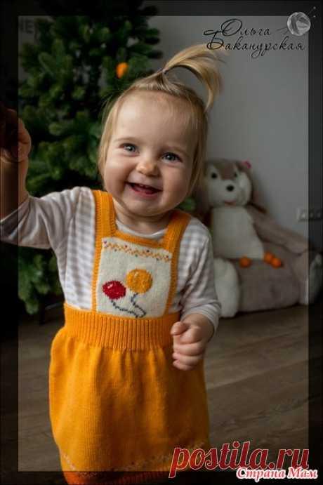 Детская юбка «Оранжевое настроение» - Вязание для детей - Страна Мам