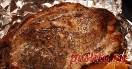 The meat in universal marinade baked by the whole piece Meat, made this way very much is pleasant to my relatives and friends therefore safely I share this recipe with you!