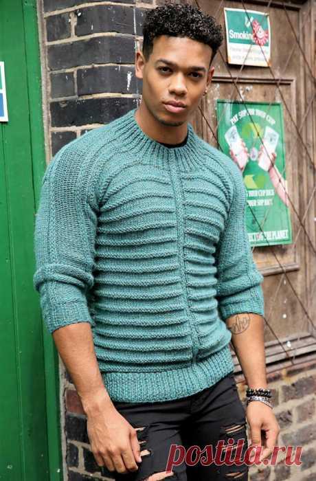 Мужской пуловер «Coverback» от Pat Menchini - Klubok.ru.com