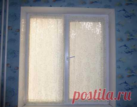 Шторки для окна на липучках — Сделай сам, идеи для творчества - DIY Ideas
