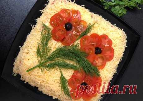 (10) Салат «Цветы» - пошаговый рецепт с фото. Автор рецепта Катрин . - Cookpad