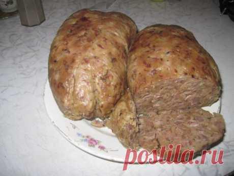 Сердечно-печеночная колбаса