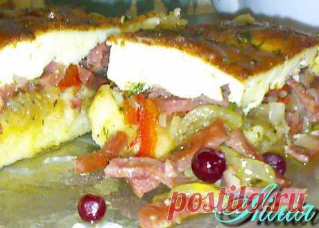 (+1) тема - Луково-картофельный пирог под соусом али-оли… | Любимые рецепты