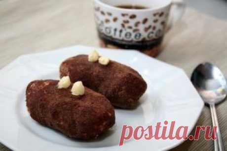 Пирожное Картошка из полезных продуктов