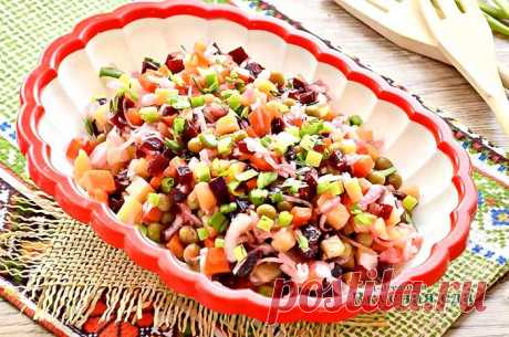 Винегрет-7 очень вкусных и простых рецептов классического салата - Вкусная еда