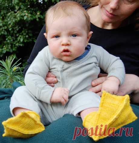 Детские носки Duck: вязаная весна + лето 2010