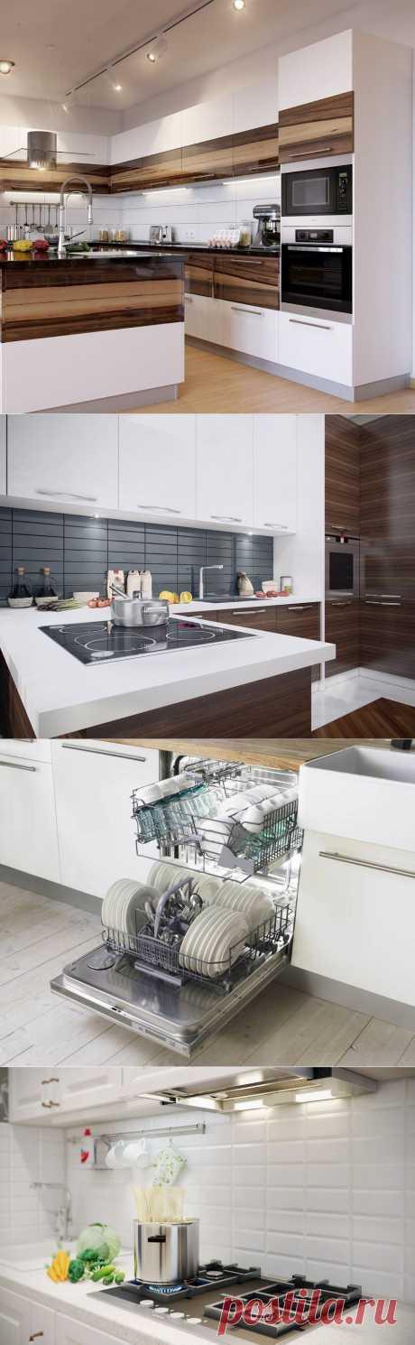 Встроенная техника в интерьере кухни: ассортимент и возможности, которые она открывает