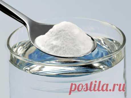 10 вариантов применения пищевой соды в быту — Полезные советы