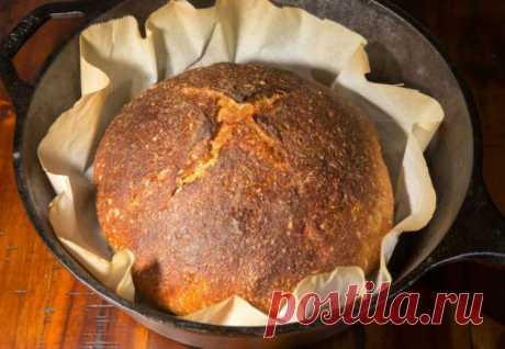 Печем хлеб в кастрюле: на столе за 30 минут - Steak Lovers - медиаплатформа МирТесен