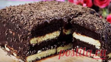 Шоколадный торт без выпечки - Лучший сайт кулинарии