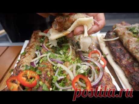Фирменное блюдо Жоржа-куриный кебаб