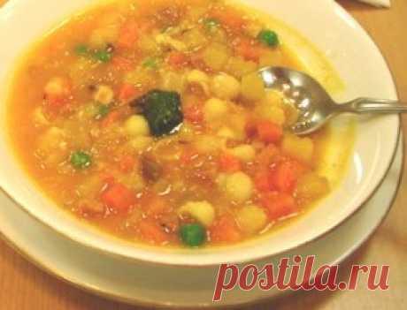 Итальянский суп минестроне | Вкусный рецепт