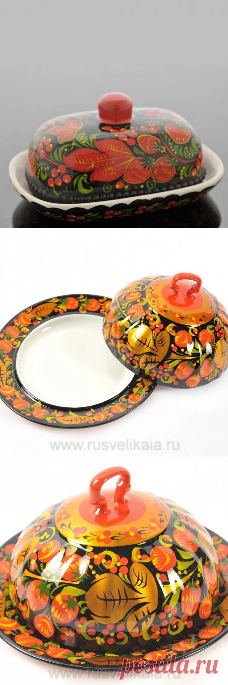 Купить Масленка. Хохлома за 900 ₽ в Москве — 26026