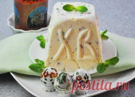 Рецепт творожной пасхи без яиц от 1001 ЕДА