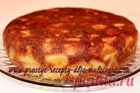 Рецепт яблочного пирога в мультиварке   Простые рецепты для мультиварки