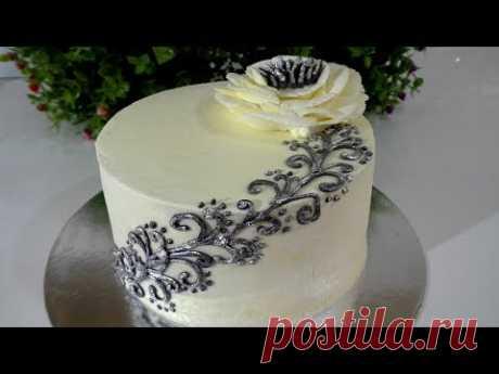 Кремовый торт на ДЕНЬ РОЖДЕНИЯ Гости будут в восторге ТОП идеи украшения тортов