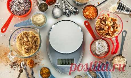 Универсальная таблица мер и весов
