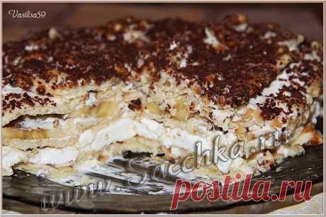 Вкусный тортик для тех, кто не умеет и не хочет печь | рецепты на Saechka.Ru