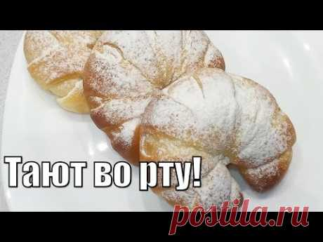 Потрясающе невесомые и тающие во рту булочки!Stunningly weightless and melting in your mouth buns!