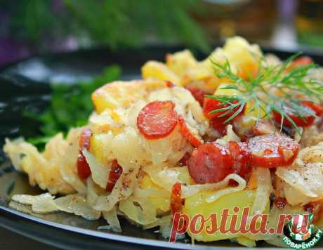 Теплый салат в немецком стиле – кулинарный рецепт