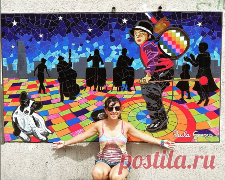 Мозаичное панно @paulitamosaiquista