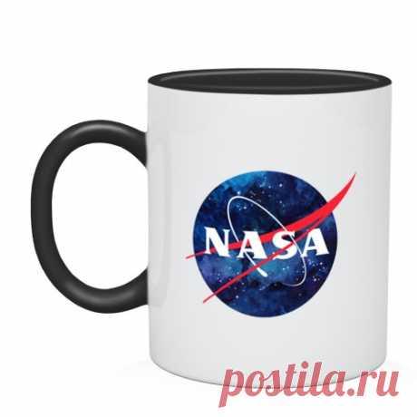 570.0руб.  Кружка двухцветная NASA Кружки      АлиЭкспресс Покупай умнее, живи веселее! Aliexpress.com