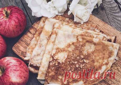 Блины на молоке Автор рецепта Alina Afanasyeva - Cookpad