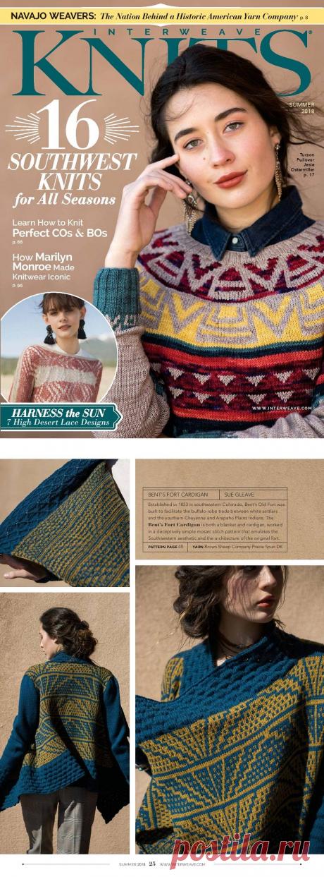 Interweave Knit — Summer 2018 — HandMade
