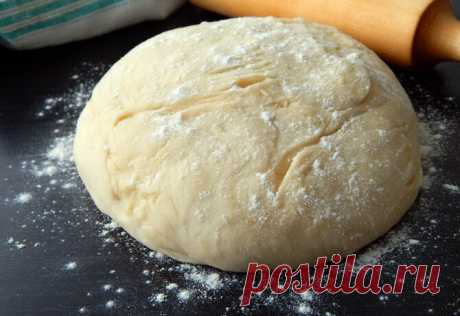 Как быстро сделать сдобное тесто на сухих дрожжах для нежной домашней выпечки, жареных пирогов и пышек | Вкусно и полезно | Яндекс Дзен
