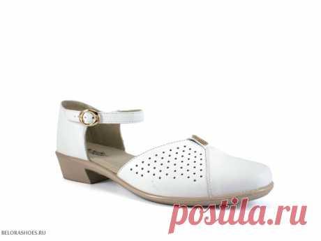 Босоножки женские Марко 344057 Легкие летние женские туфли на низком каблуке