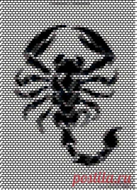 Скорпион | biser.info - всё о бисере и бисерном творчестве