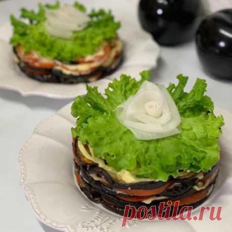 Тортик из баклажанов: идеальный перекус!