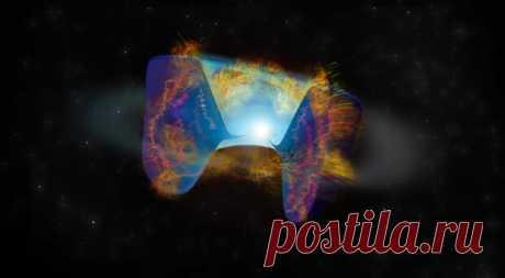 (99+) Мощнейший взрыв в космосе удивил ученых - Конвейер новостей - медиаплатформа МирТесен Иллюстрация показывает яркое радиоизлучение, которое исходит от космических объектов. Фото: NRAO / AUI / NSF наука Астрономы нашли убедительные доказательства того, что черная дыра или нейтронная звезда по спирали проложила себе путь в ядро одной из двух звезд и заставила ее взорваться, вызвав