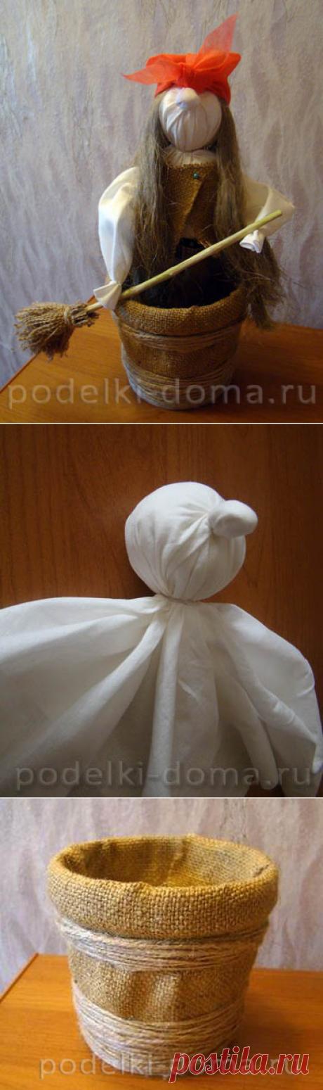 Кукла Баба-Яга (тряпичная, мастер-класс) | podelki-doma.ru