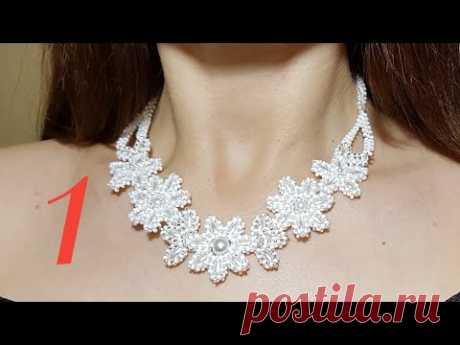 PEARL necklace/Beaded necklace/ЖЕМЧУЖНОЕ КОЛЬЕ/Жемчужное ожерелье/ 1 @Cícero Alencar
