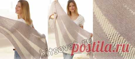 Вязание шали Morning Rays - Хитсовет