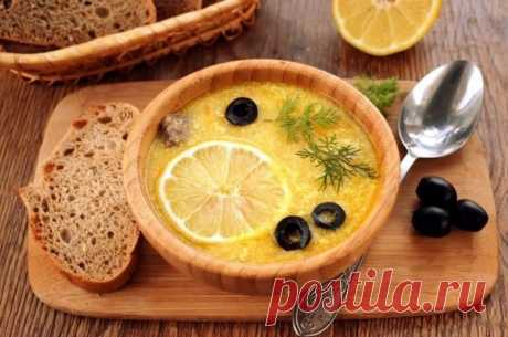 """Куриный суп """"Греческий"""" — Sloosh – кулинарные рецепты"""