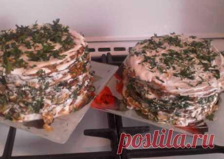 Печеночный торт Автор рецепта Екатерина Светличная - Cookpad