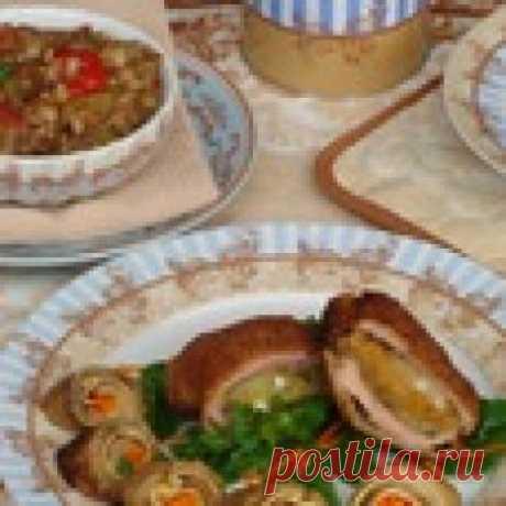 Полуфабрикаты из баклажанов и не только Кулинарный рецепт