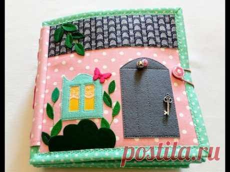Doll house/Кукольный дом 20/Мягкая развивающая книжка/Quiet book