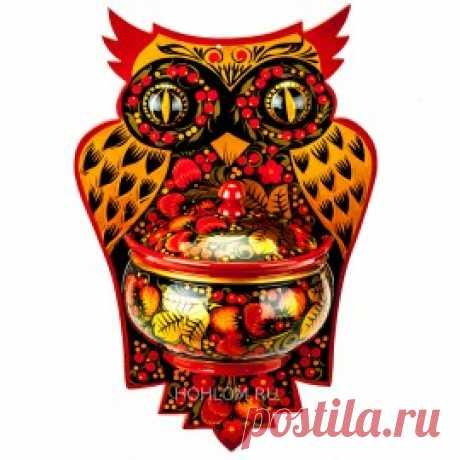 Купить Поднос самовар хохломские сувениры от производителя в Семенове Нижнем Новгороде