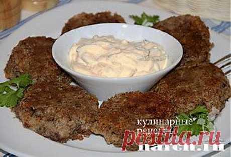 Котлеты из гречки с грибами   Харч.ру - рецепты для любителей вкусно поесть
