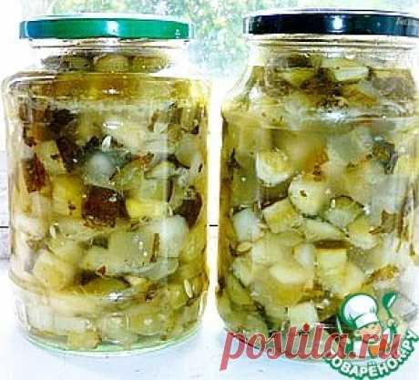 Заготовка огурцов любого размера для рассольника - кулинарный рецепт