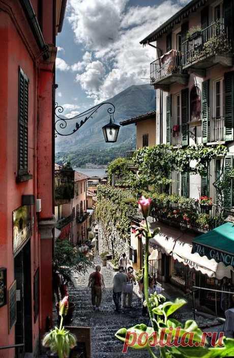 Белладжио – озерный городок расположенный в красивейшом месте Италии