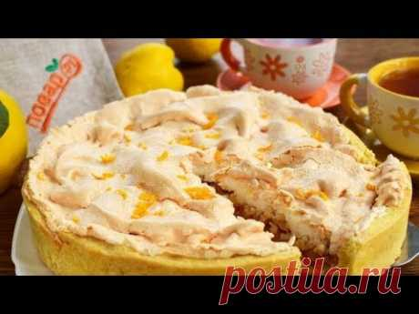 Венгерский айвовый пирог сочный и нежный