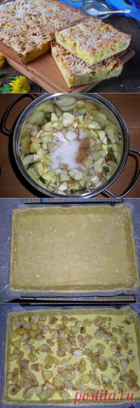 Песочный пирог с яблоками на FurnishHome.ru