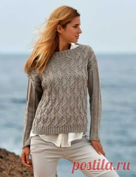 Пуловер с аранами. – Telegraph